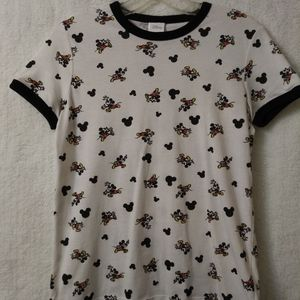 Disney Retro Mickey Mouse Ringer T-Shirt